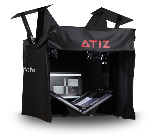 Microcom Seattle Atiz Bookdrive Pro Archival Book Scanner