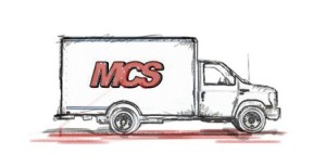 MCS Seattle Moving Truck